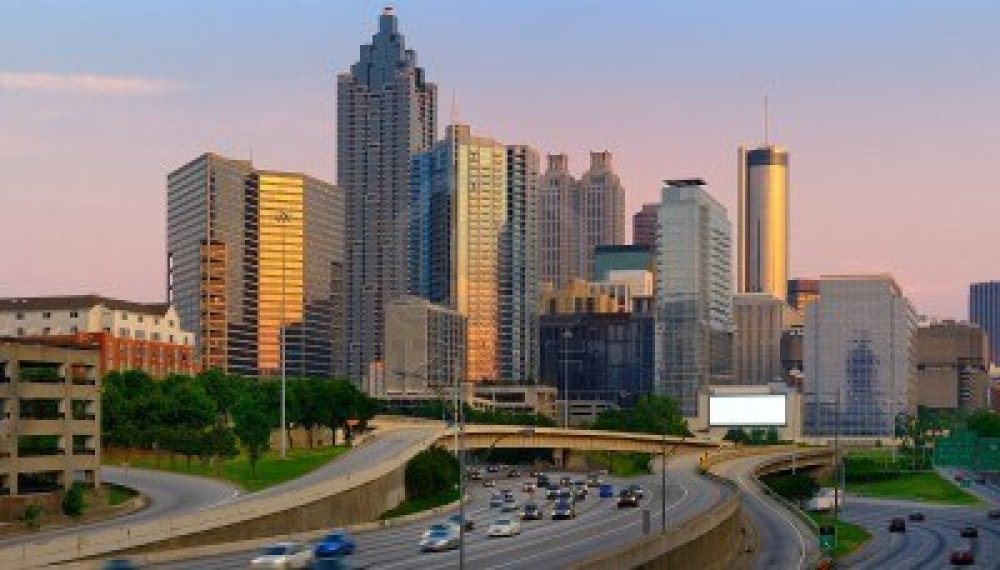9546228-the-skyline-of-atlanta-georgia-with-downtown-skyscrapers