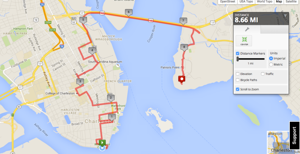 Charleston_Route