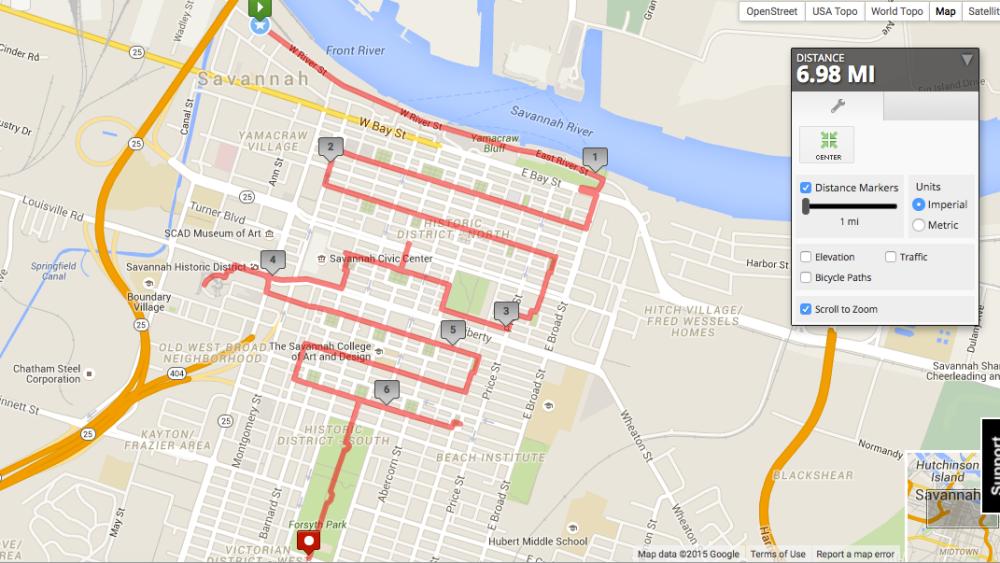 Savannah_Route